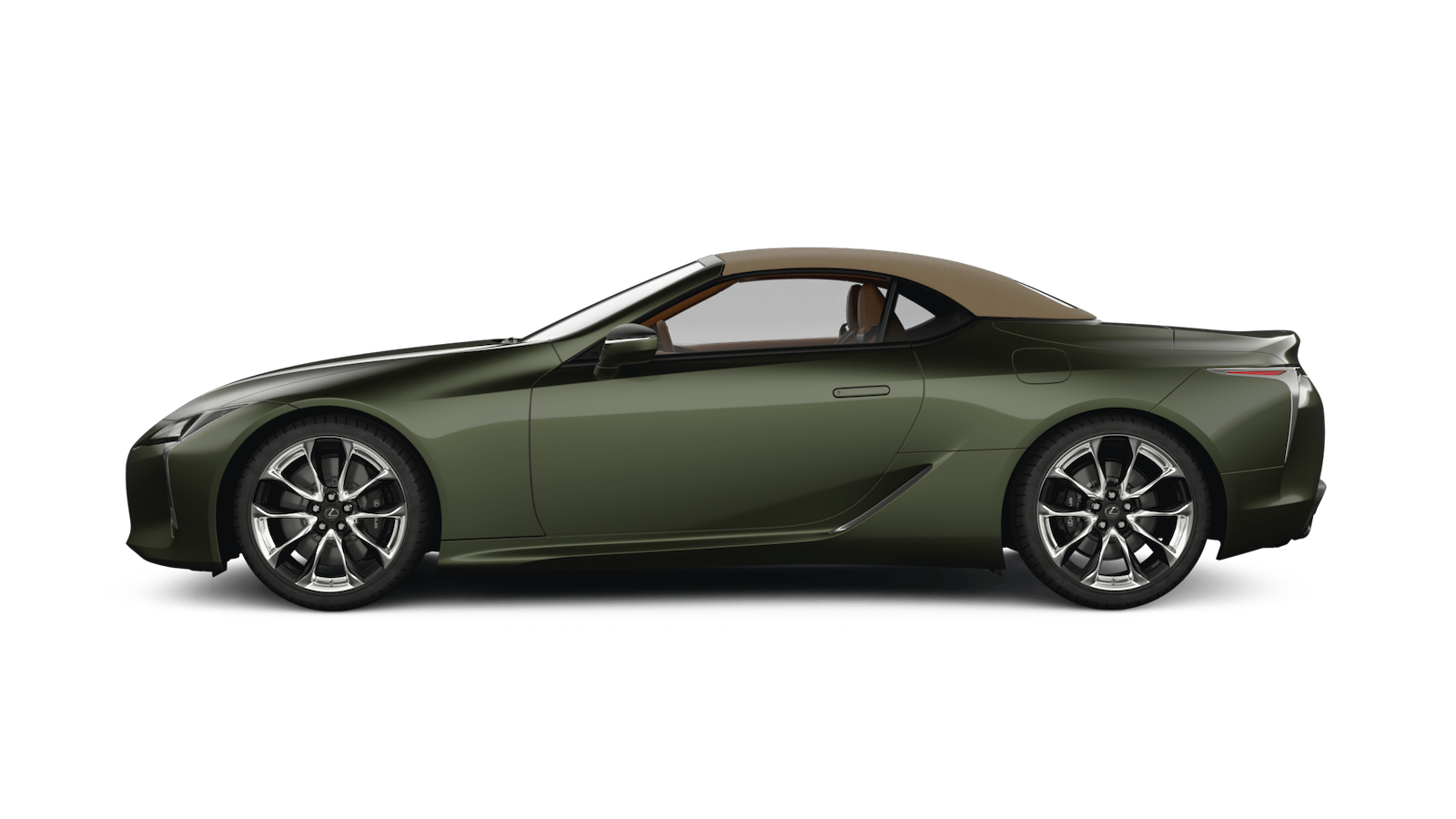 LC Convertible in Khaki Metal